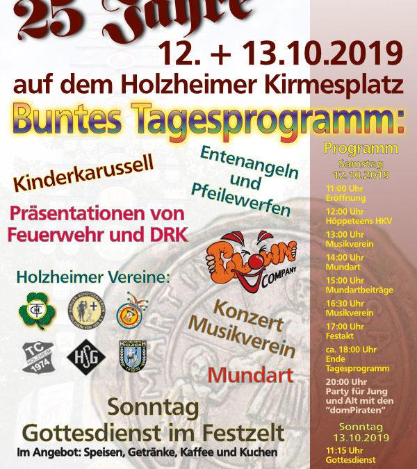 Jubiläum 25 Jahre Heimatverein Holzheim