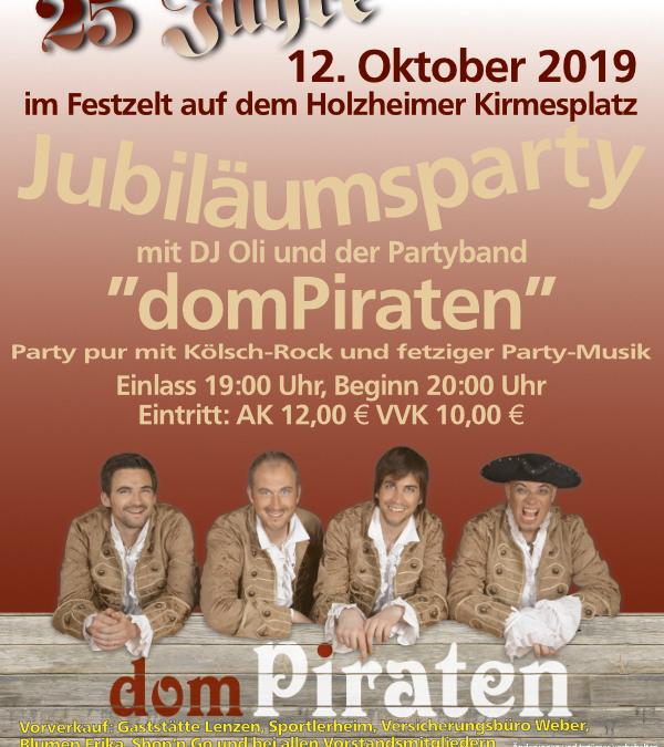 25 Jahre Heimatverein Holzheim – Jubiläumsparty