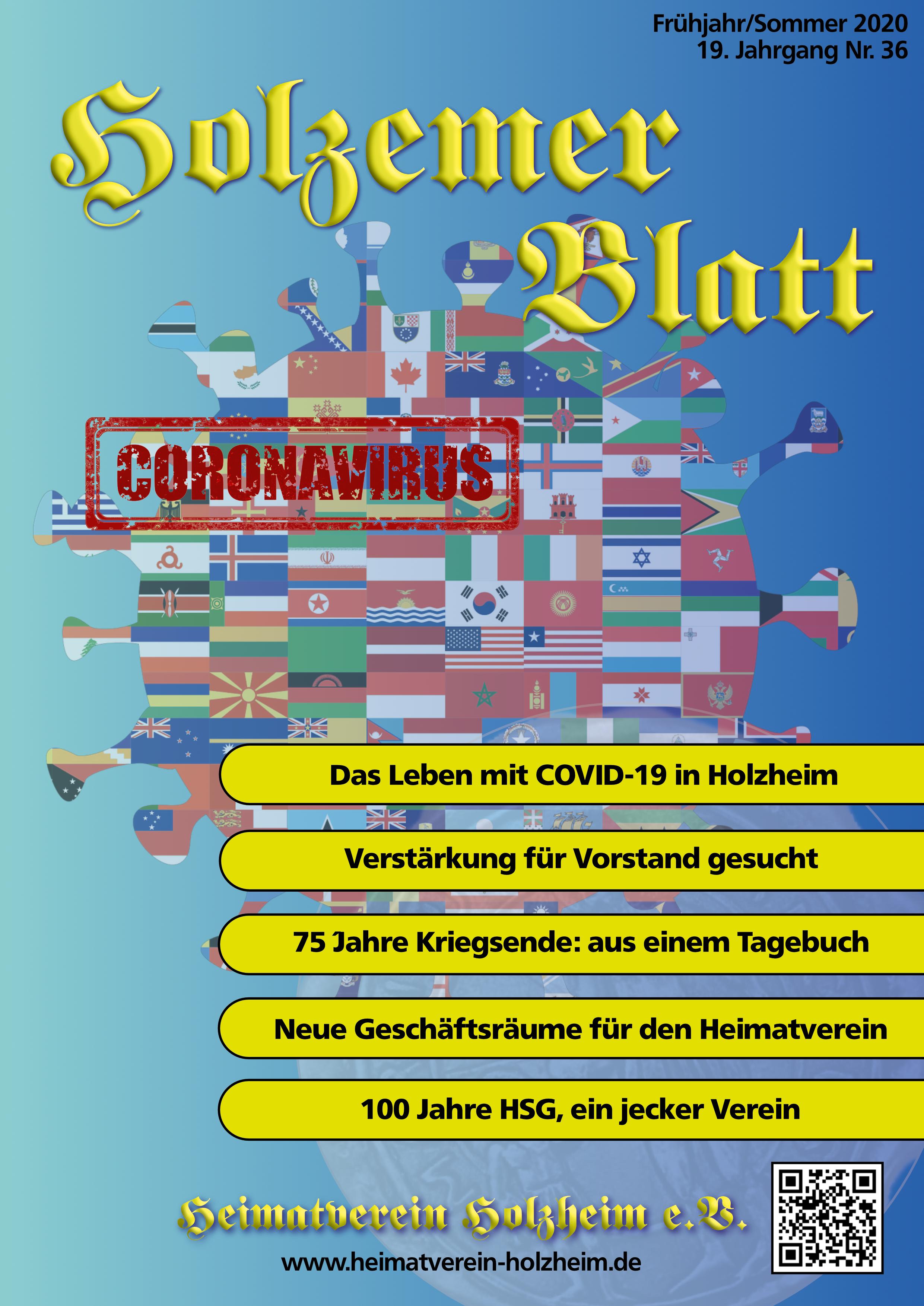 Öffnet die aktuelle Ausgabe des Holzemer Blatt als PDF Dokument